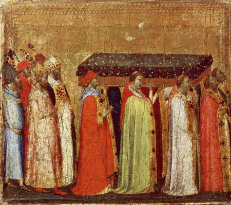 Bernardo Daddi - II. Translation der Reliquien