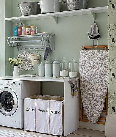 laundry area organization | Arianna Belle The blog