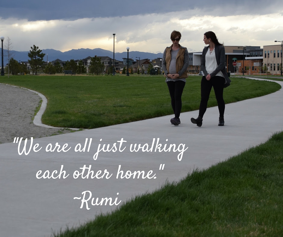 We Are All Just Walking Each Other Homerumi Kindred Counseling