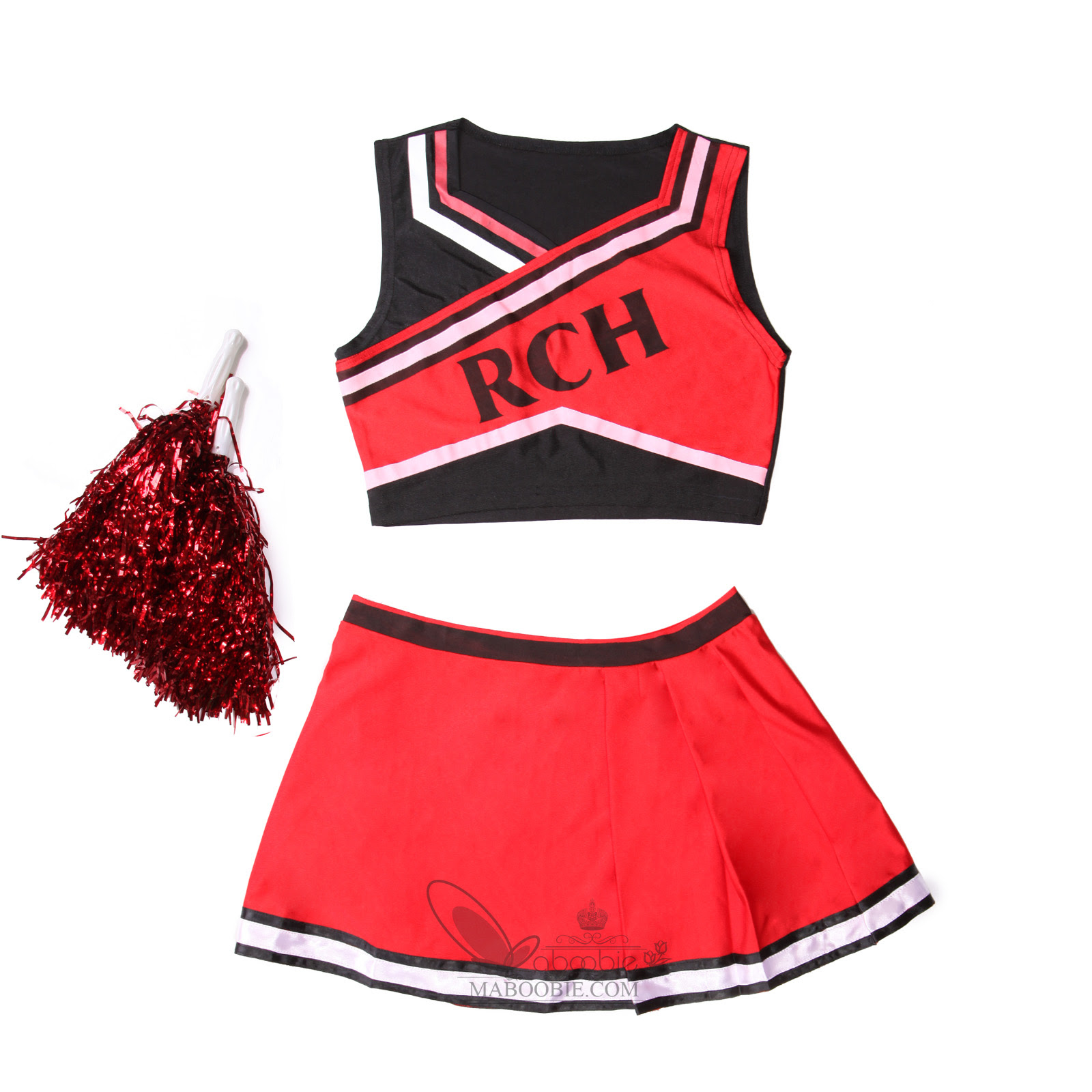 bring it on style cheerleader group costume outfit ladies