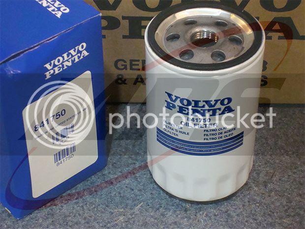 new genuine volvo penta oil filter 30l 43l 50l 57l 8