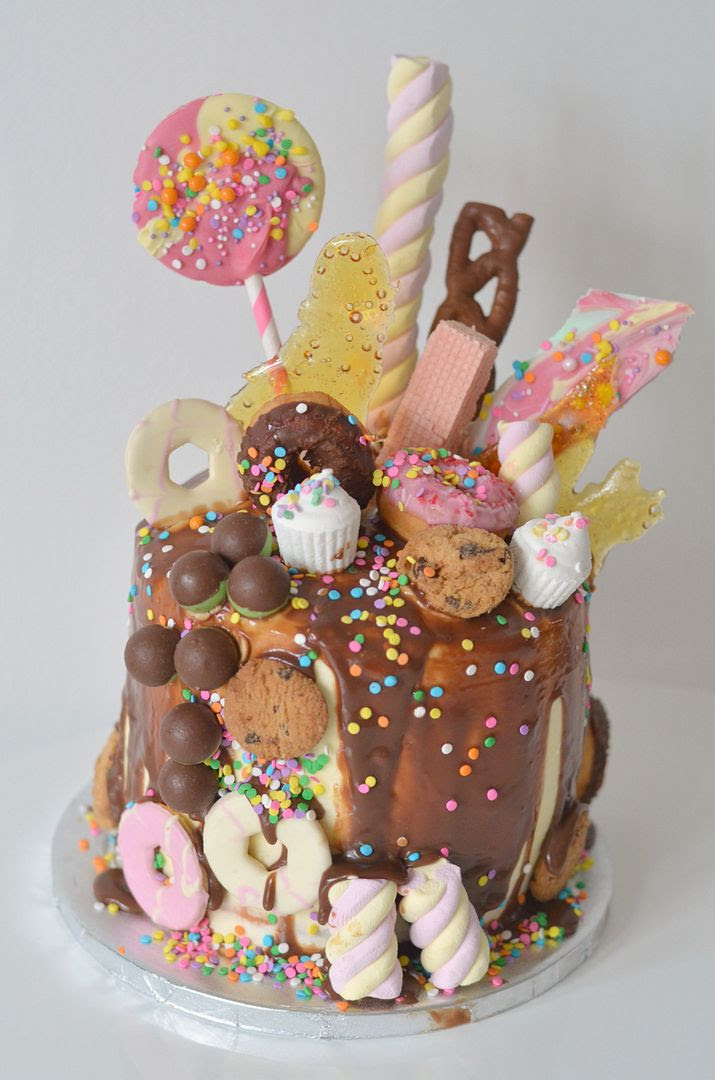 Ultimate Chocolate Drip / Freakcake Birthday Cake