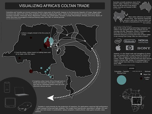 Visualizing Africa's Coltan Trade by Jon Gosier, on Flickr