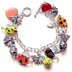 birds and bees bracelet