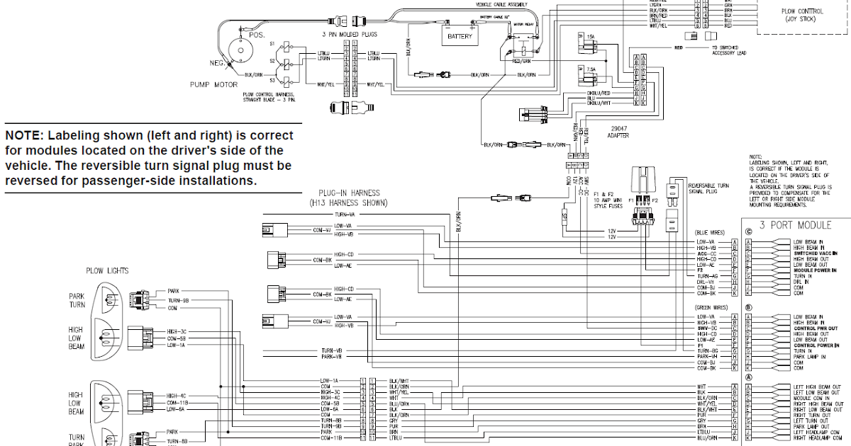 27 Western Plow Solenoid Wiring Diagram