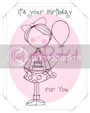Lollipop-Happy Birthday Annie