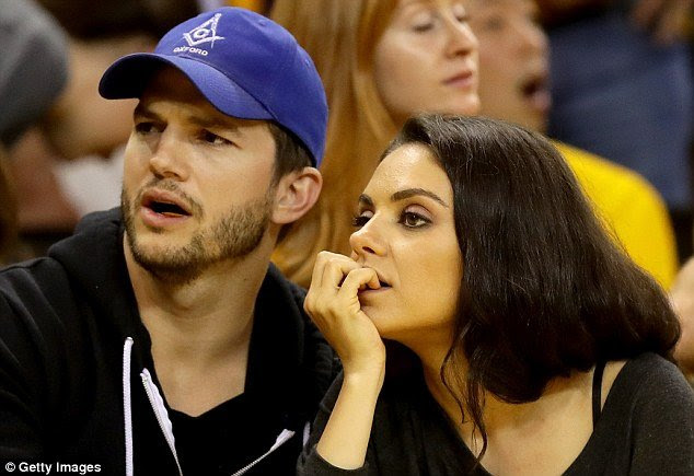 This is Ashton Kutcher wearing a Masonic hat. That is all.