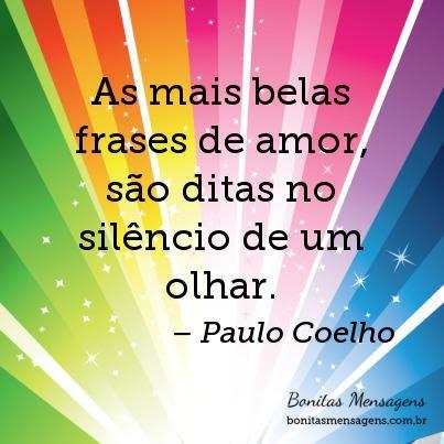 As Mais Belas Frases De Amor São Ditas No Silêncio De Um Olhar