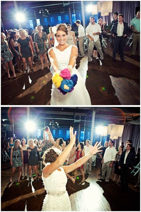 Who Else Is Bored With The Old Bouquet Toss