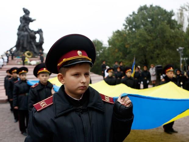 Ucrânia recorda matança de judeus de Babi Yar