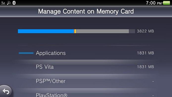 PS Vita finalmente terá gerenciador de Memory Card, muito requisitado pelos usuários (Foto: PlayStation Blog)