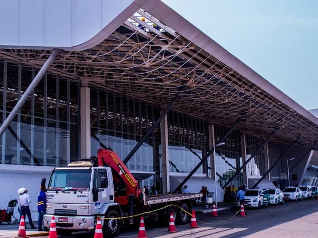 Após paralisação, obras no Aeroporto Marechal Rondon devem ser retomadas