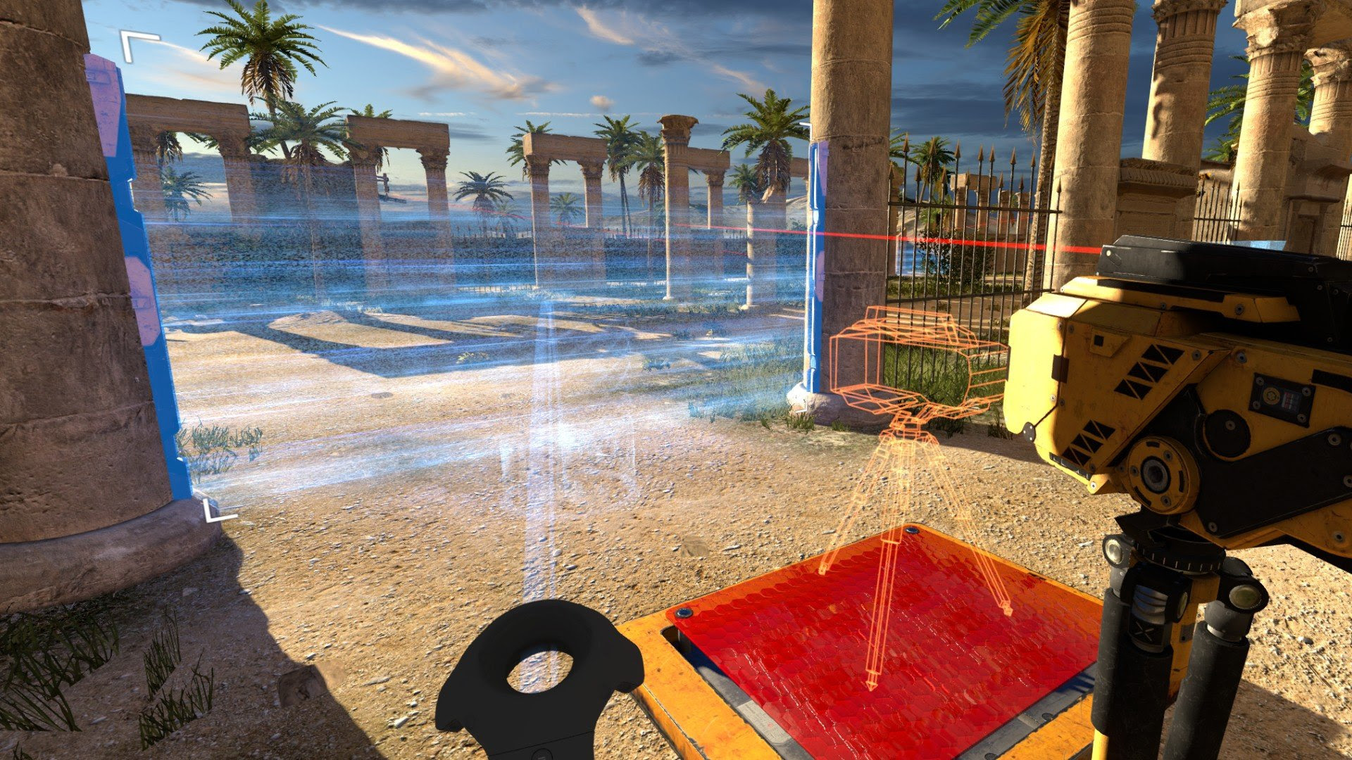 The Talos Principle VR shows that Croteam gets virtual reality screenshot