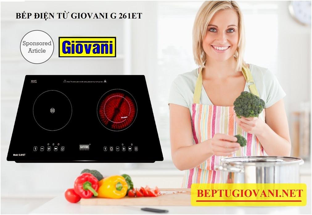 Bếp điện từ Giovani G 261ET cao cấp và an toàn