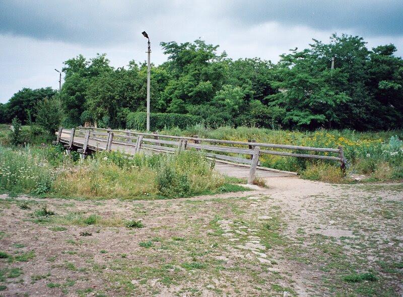 Танаис. Реконструированный мост
