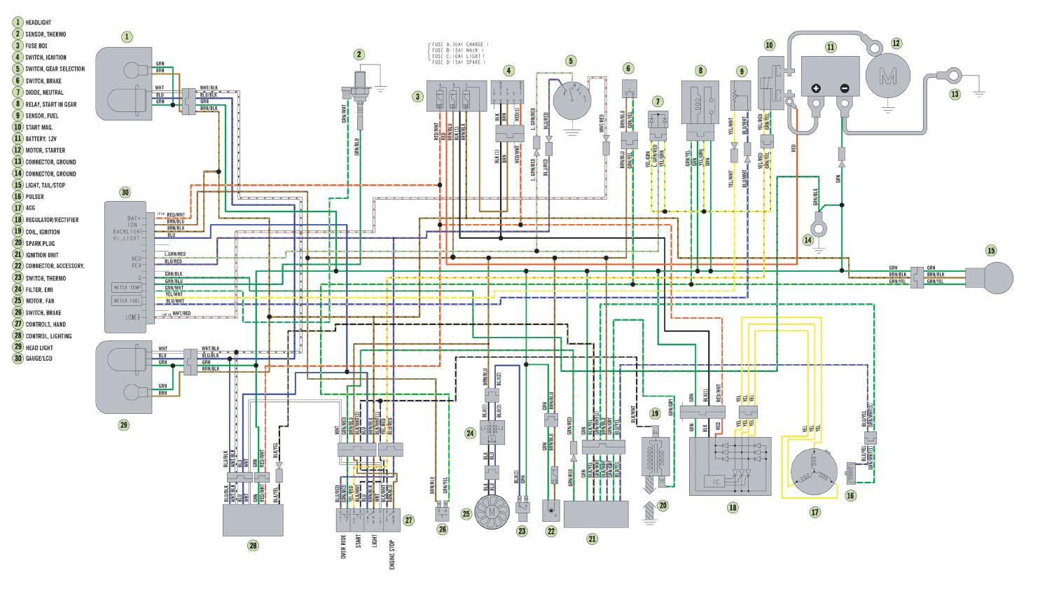 Redline Wiring Diagram
