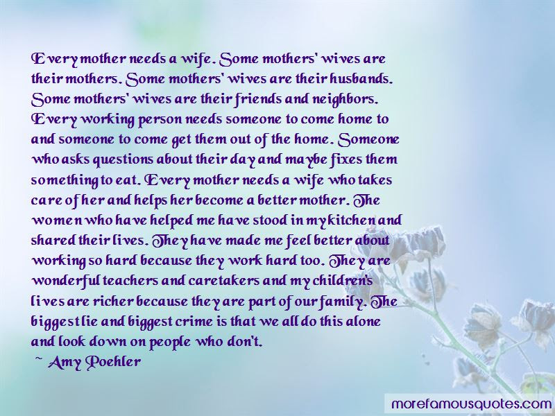 Wife Mothers Day Quotes Top 1 Quotes About Wife Mothers Day From