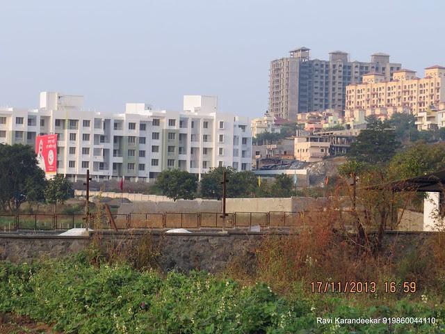 Close up of UrbanGram Kirkatwadi, Aapla Ghar Kirkatwadi, DSK Vishwa from Belvalkar Kalpak Homes, 1 BHK & 2 BHK Flats at Kirkatwadi, Sinhagad Road, Pune 411024