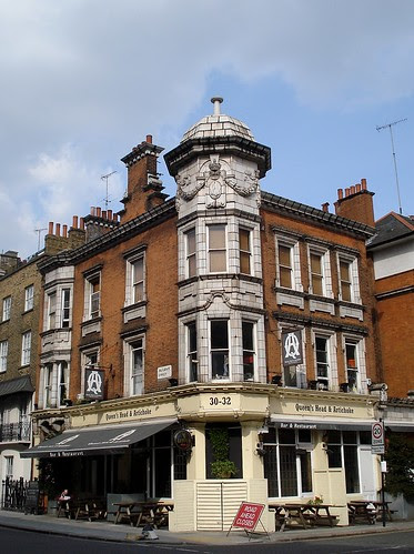 Queen's Head and Artichoke, Albany Street, London NW1