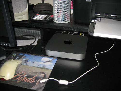 Mac mini all set up