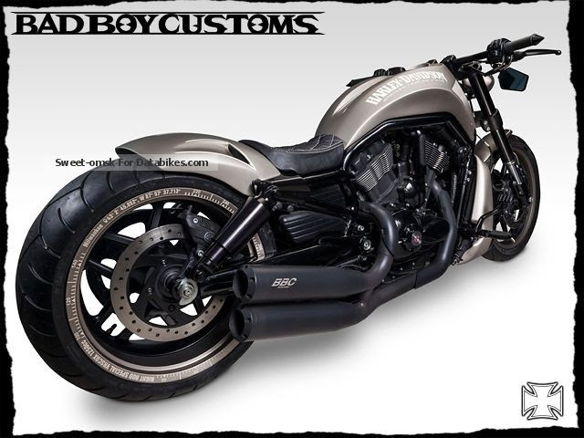 Harley Davidson Night Rod Special V Rod Geo Black 280
