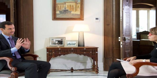 President al-Assad-Sunday Times-interview 4