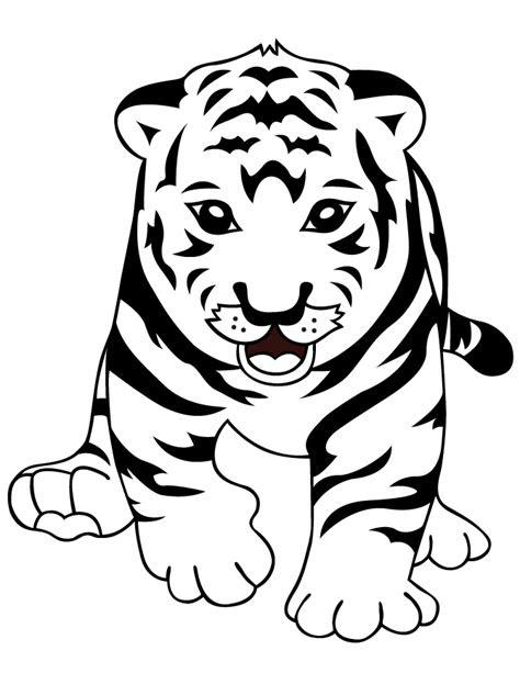 ausmalbilder für kinder tiger  kostenlose malvorlagen ideen