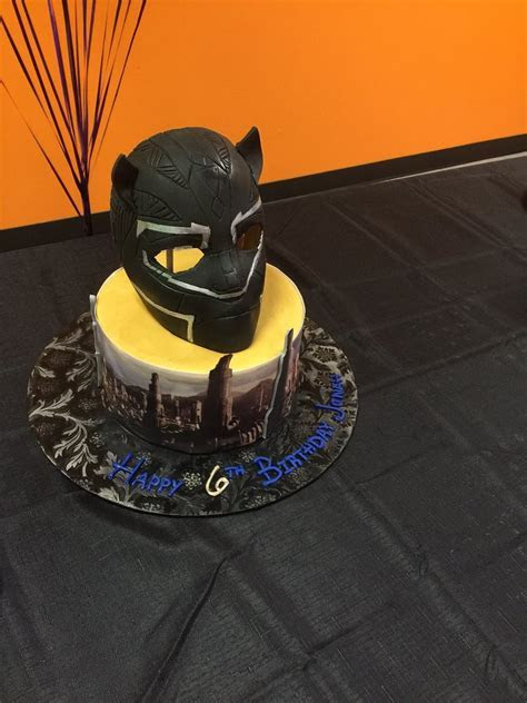 Black Panther Birthday Cake   Yelp