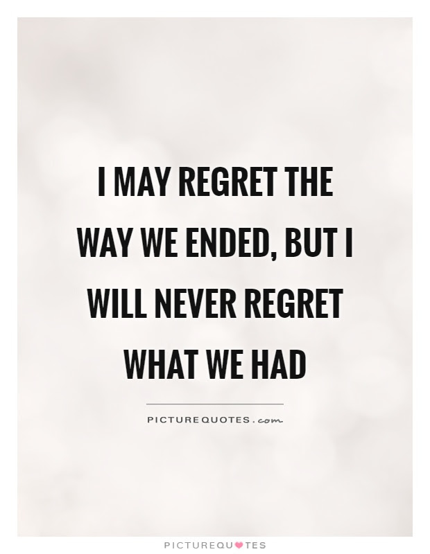 Regret Quotes Regret Sayings Regret Picture Quotes Page 4