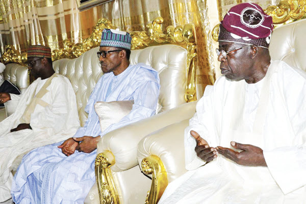 Buhari, Tinubu, governors bid Borgu emir farewell