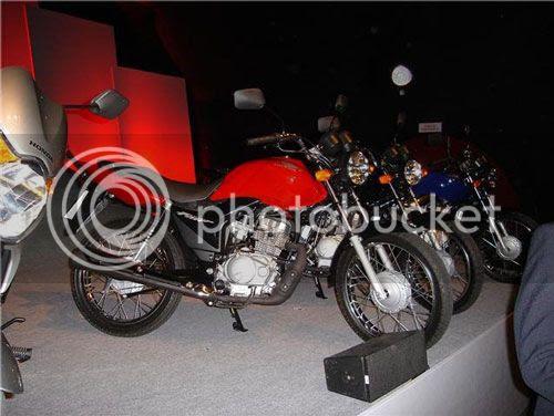 Foto não oficial da Nova Honda CG Fan modelo 2009