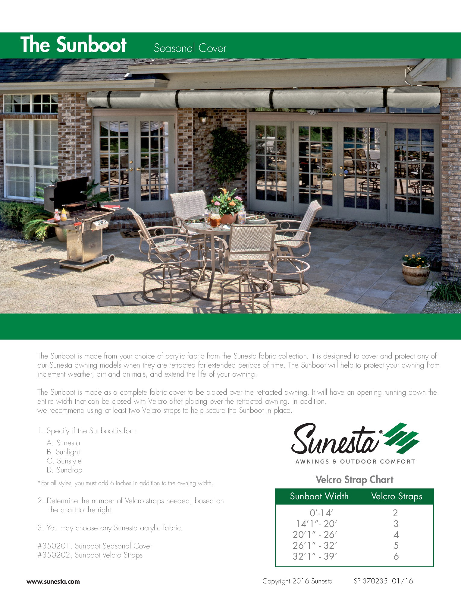 Retractable Awning Accessories | Homideal