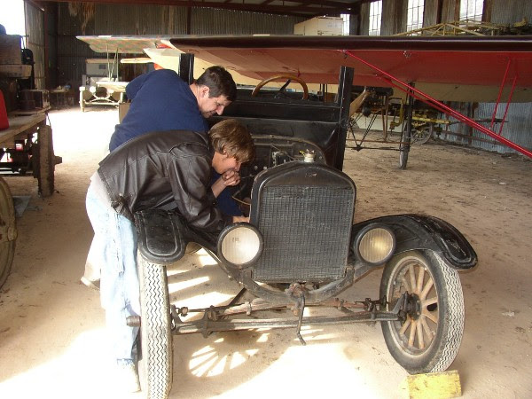 Model T electrical system