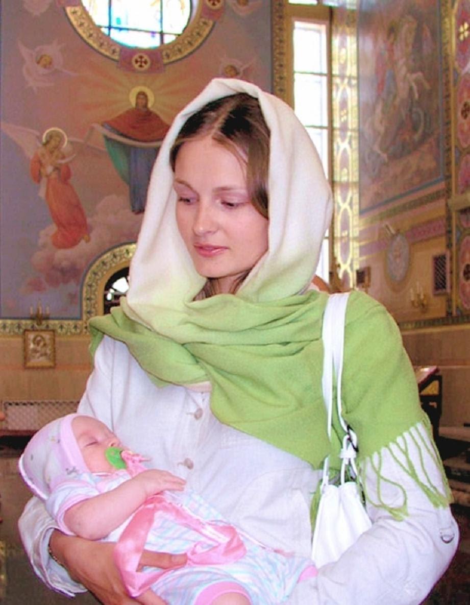 russian orthodox christian women