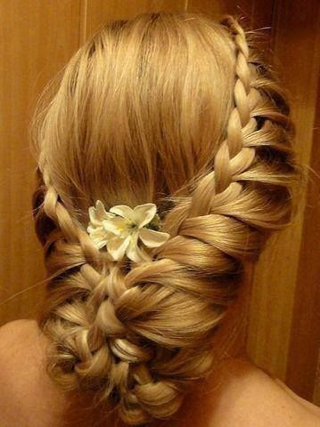 beautiful wedding hair | Beautiful wedding hairstyle | —•HAIR STYLE• •