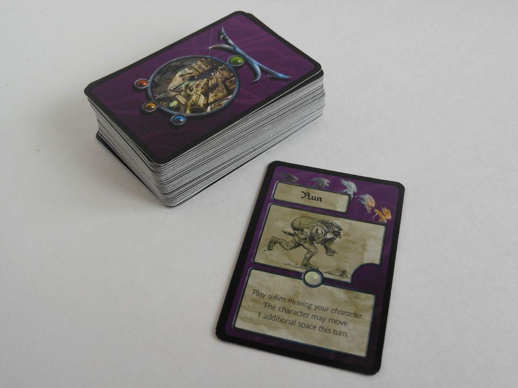Cadwallon: City of Thieves Arcana cards