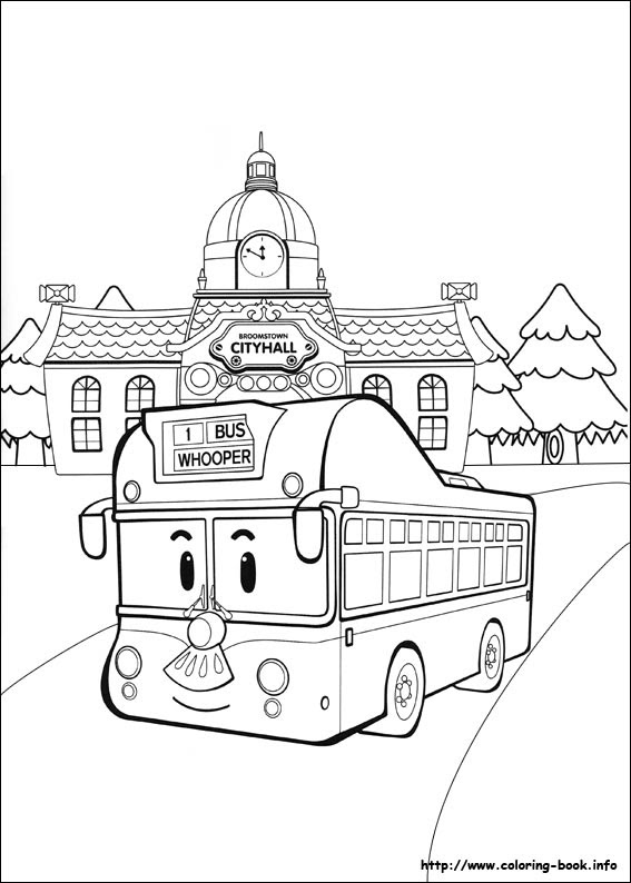 Tayo Coloring Pages At Getcolorings Com Free Printable Colorings