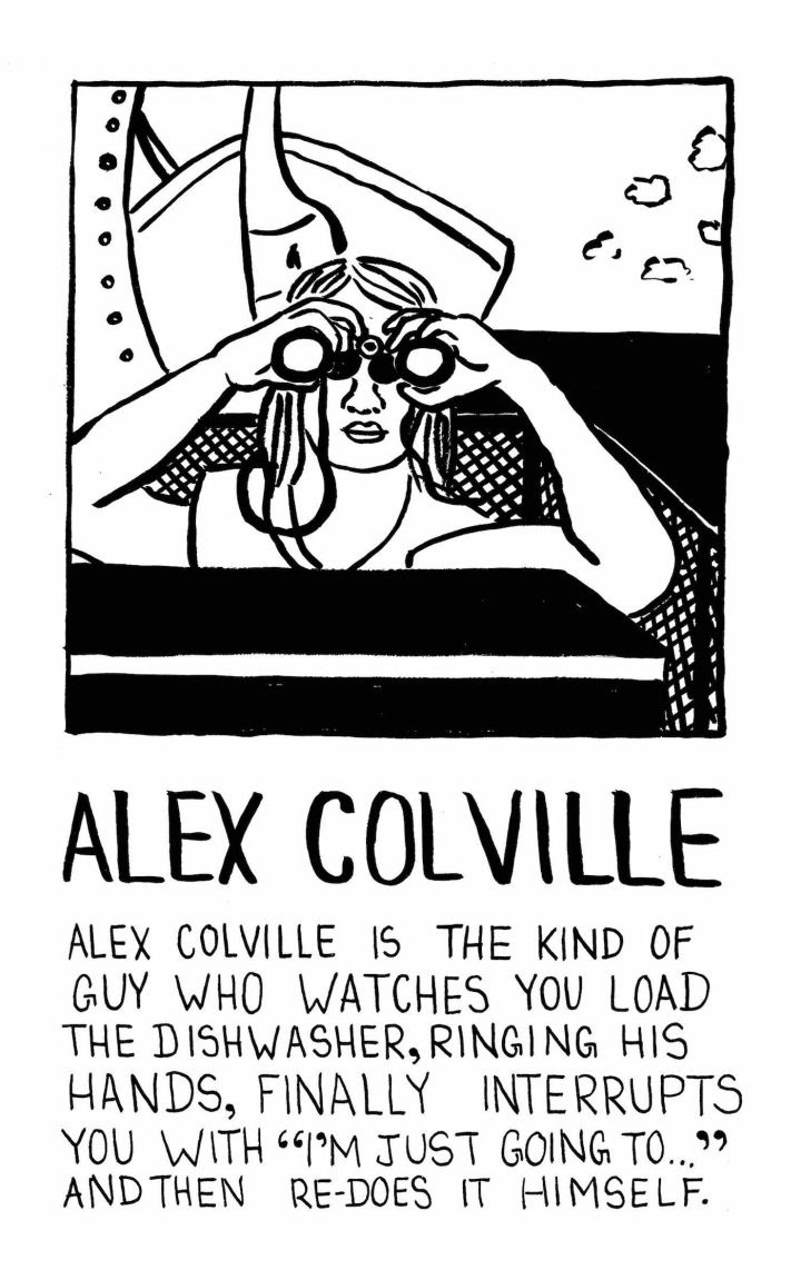Alex Colville by Jessica Campbell