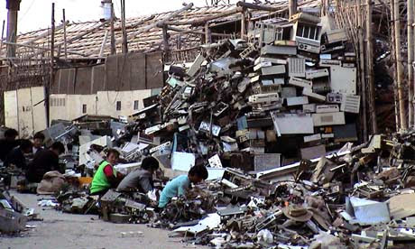 Electronic waste in China