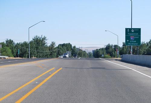 SR 22 @ I-82 westward