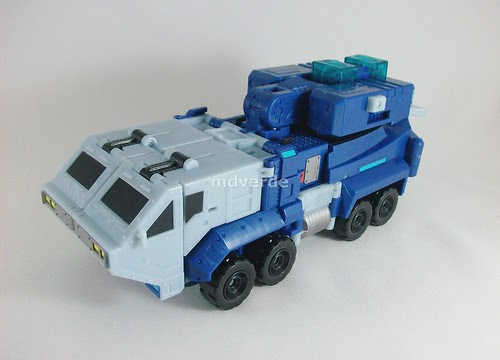 Transformers Ultra Magnus Animated Leader - modo alterno