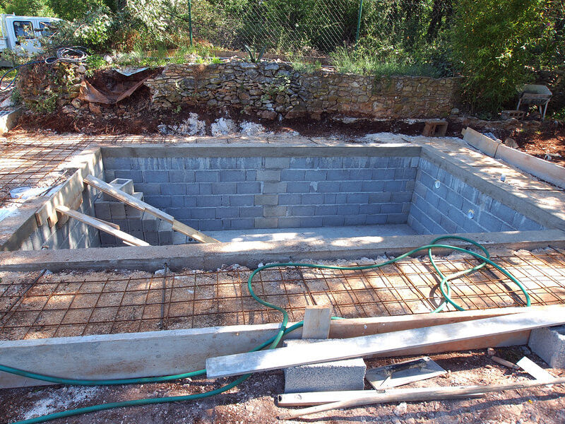 How to Build a Cinder Block Swimming Pool | eBay
