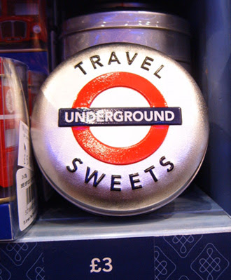 London Underground Travel Sweets