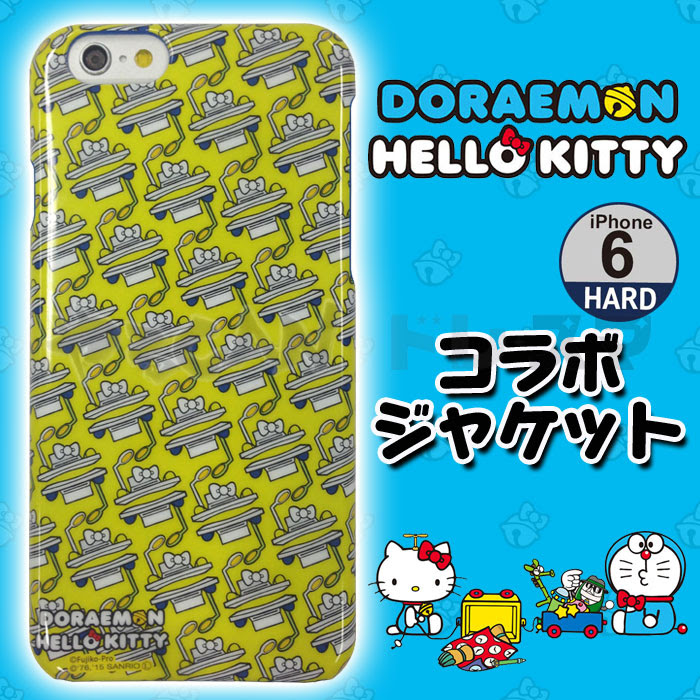 Iphone 6 用 ケース カバー ドラえもんhello Kitty コラボジャケット