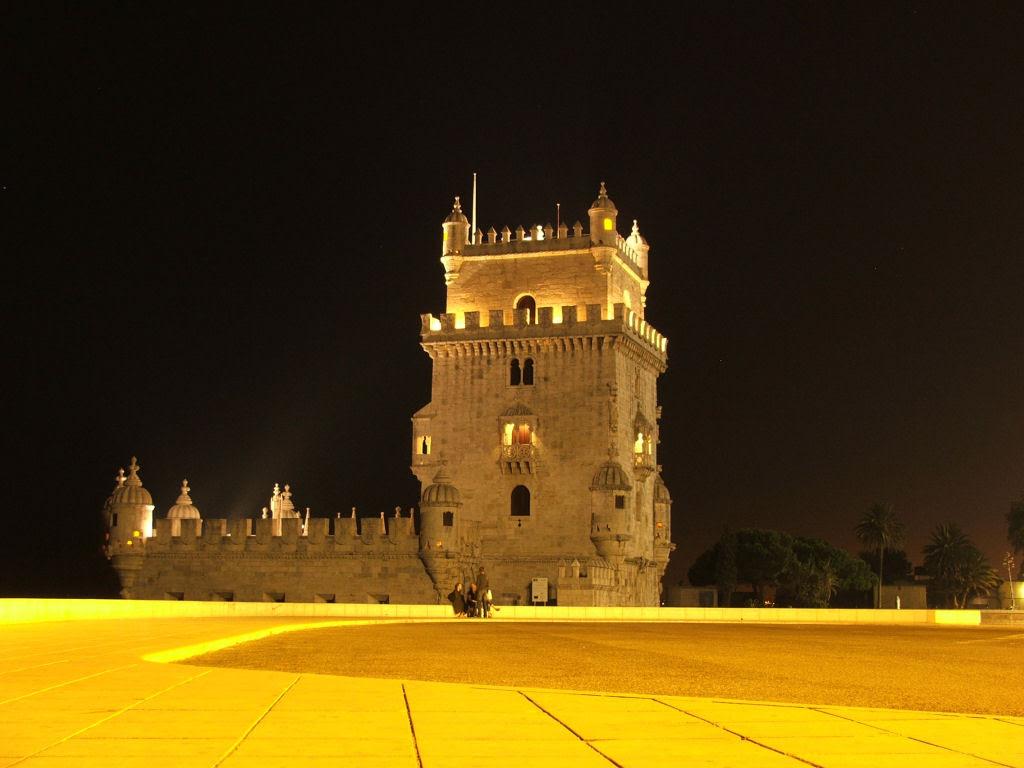 Lugares famosos sob o manto da noite 19