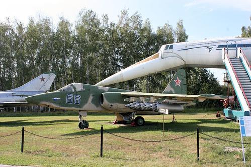 Sukhoi Su-25K 66 blue