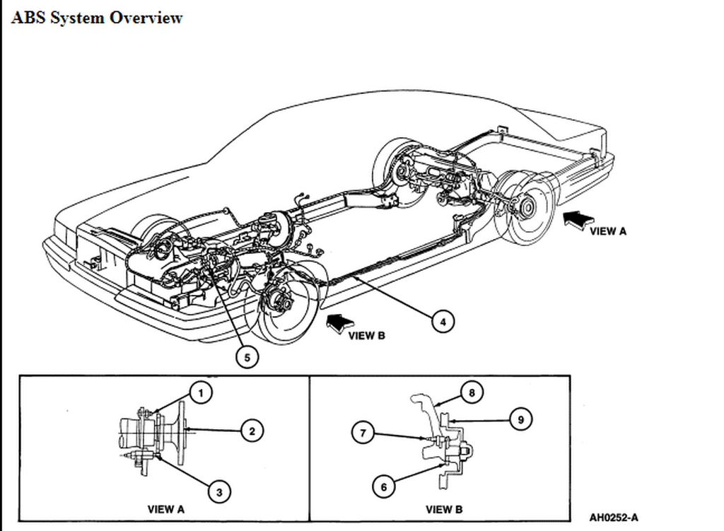 32 1999 Ford Taurus Brake Line Diagram