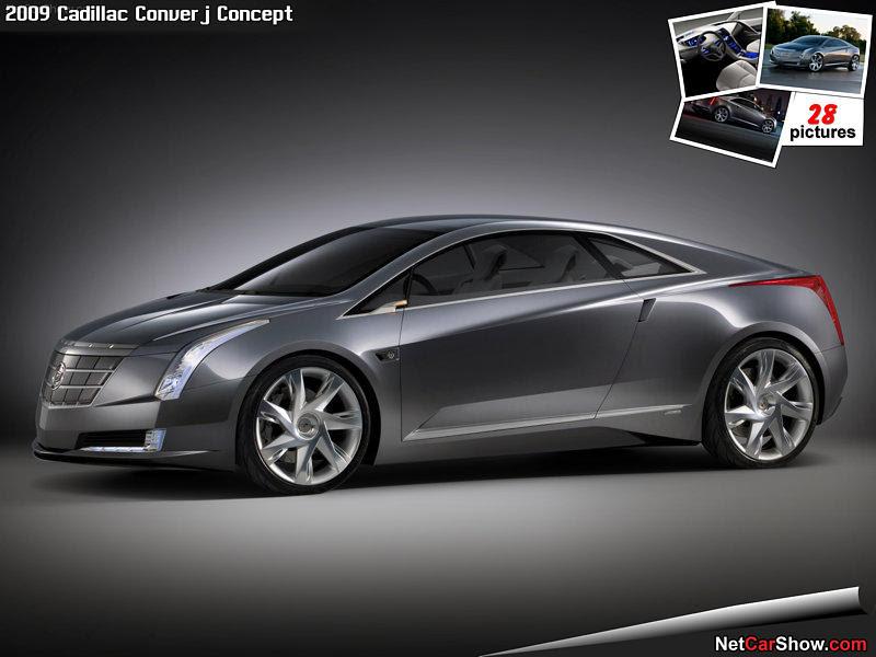 Cadillac Converj Concept - Rear Angle, 2009, 800x600, 9 of 22