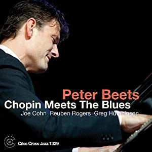 Peter Beets- Chopin Meets The Blues  cover
