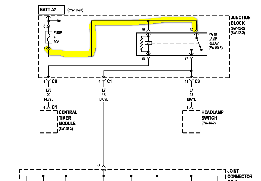 2001 Dodge Durango Turn Signal Wiring Diagram